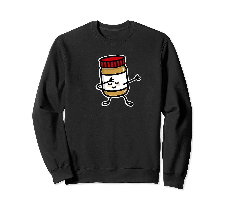 Dab Dabbing Peanut Butter Jar Funny Jelly Spreads Premium T Shirt Crewneck Sweater