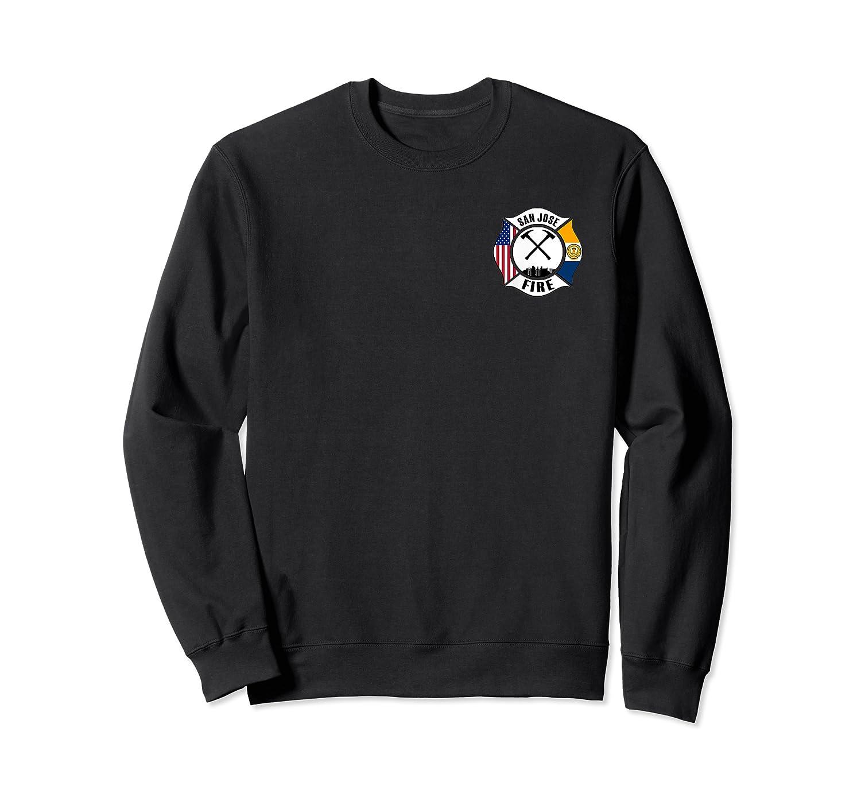 San Jose Fire Rescue Departt California Firefighter Duty T-shirt Crewneck Sweater
