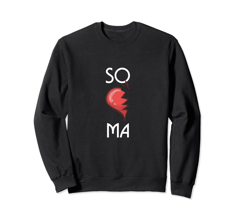 So Ma Cute Soulmates Valentine S Day 2020 Partners Premium T Shirt Crewneck Sweater