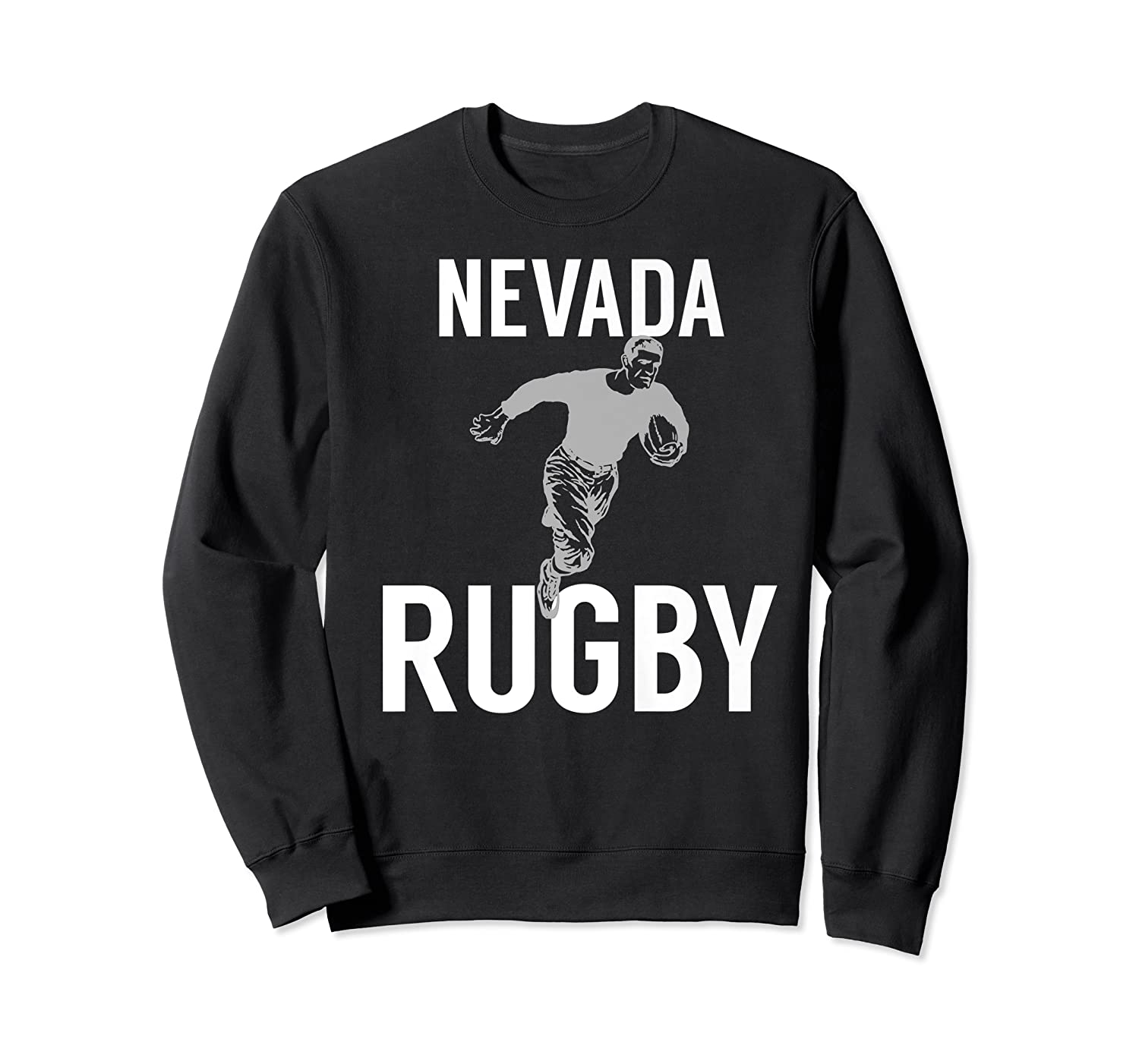 Nevada Rugby Player T-shirt Crewneck Sweater
