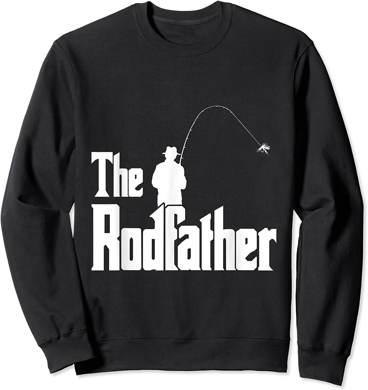 The Rodfather Is On The River This Christmas T-shirt Crewneck Sweater