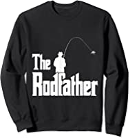 The Rodfather Is On The River This Christmas T-shirt Sweatshirt Black