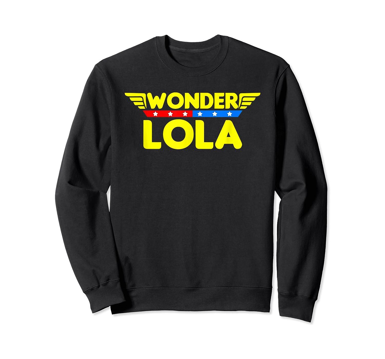 Wonder Lola Mother S Day Gift Mom Grandma T Shirt Crewneck Sweater