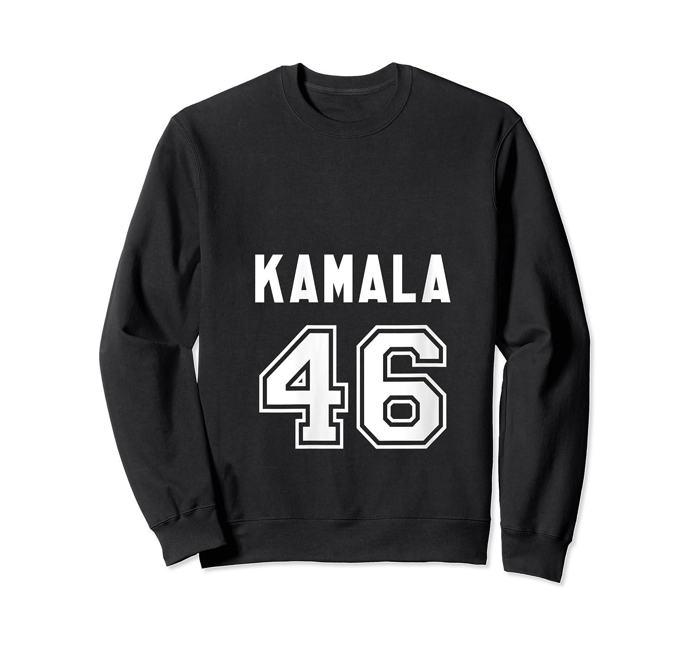 Kamala 46 - Sports Style Kamala Harris Supporter T-shirt Crewneck Sweater