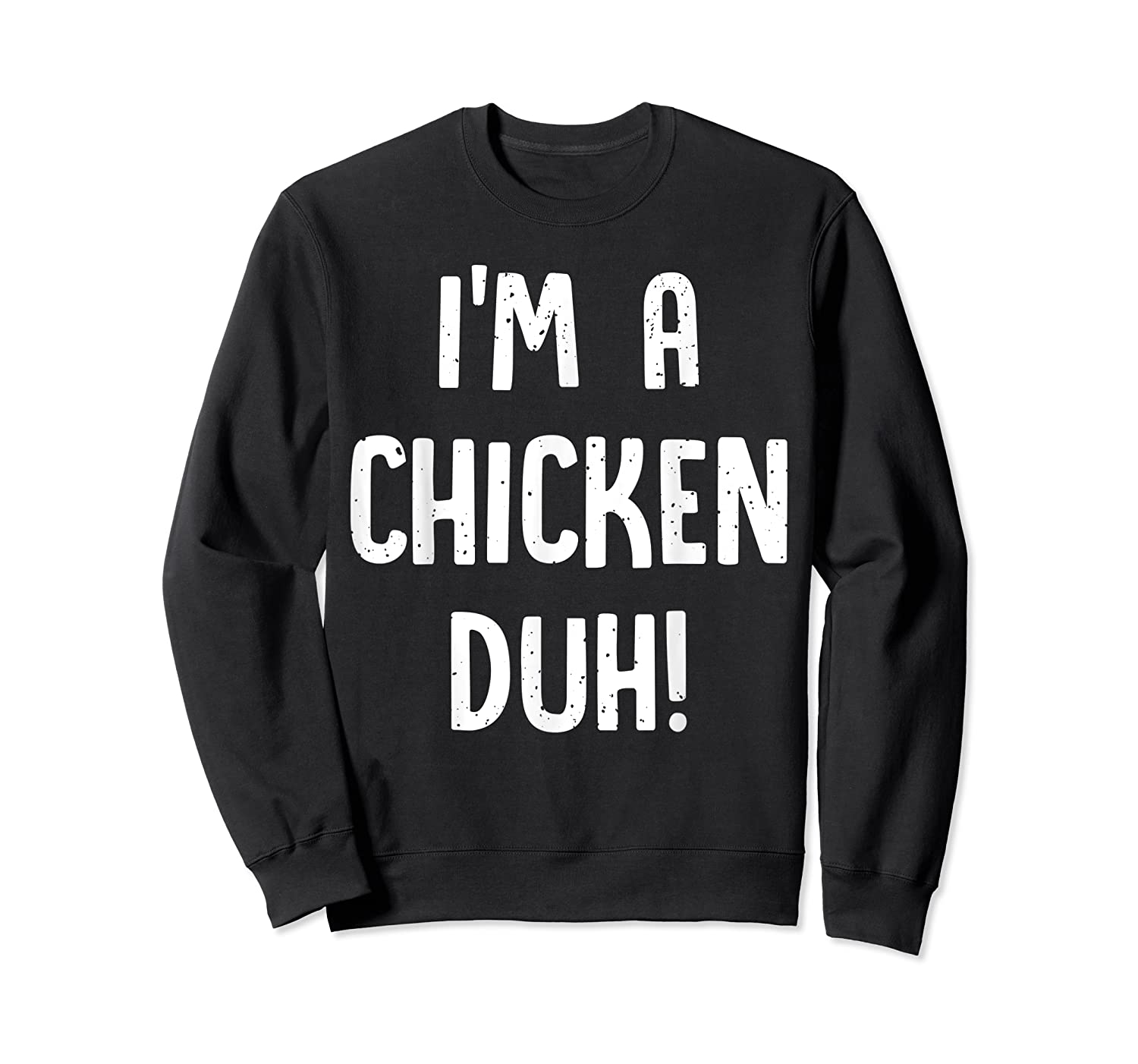 Chicken Halloween Shirt Costume Out Funny Gift Boy Girl Crewneck Sweater