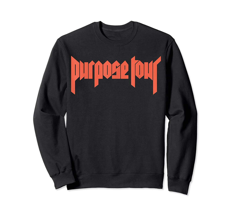 Justin Bieber Purpose Tour Cross Dateback T-shirt Crewneck Sweater