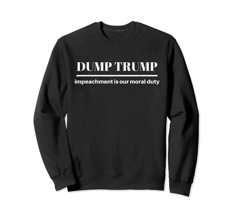 Impeach Trump Dump Trump T Shirt Crewneck Sweater