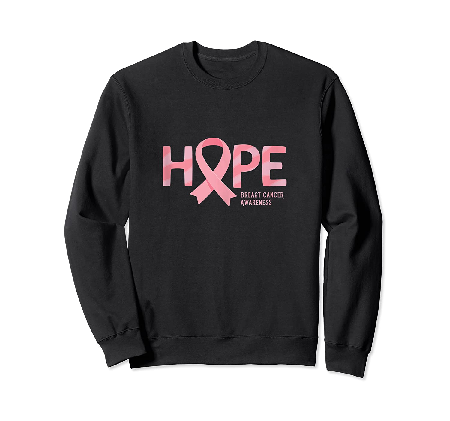 Have Hope Breast Cancer Awareness Month Support Team Tank Top Shirts Crewneck Sweater