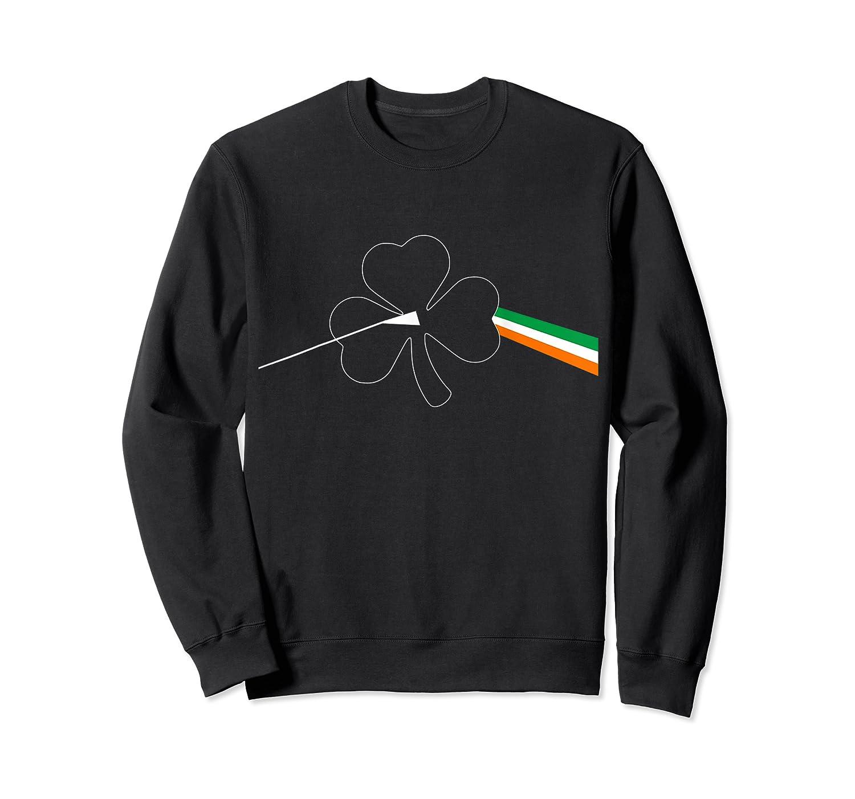 Dark Side Of The Shamrock Funny Saint Patrick S Day T Shirt Crewneck Sweater