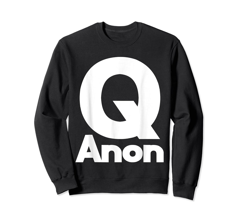 Qanon Tshirt Classic Q Shirt Wwg1wga Trump Rally T-shirt Crewneck Sweater