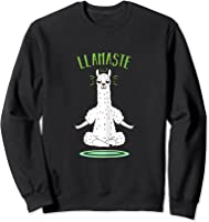 Da Ste - Namaste Yoga Meditation Hatha Xmas T-shirt Sweatshirt Black