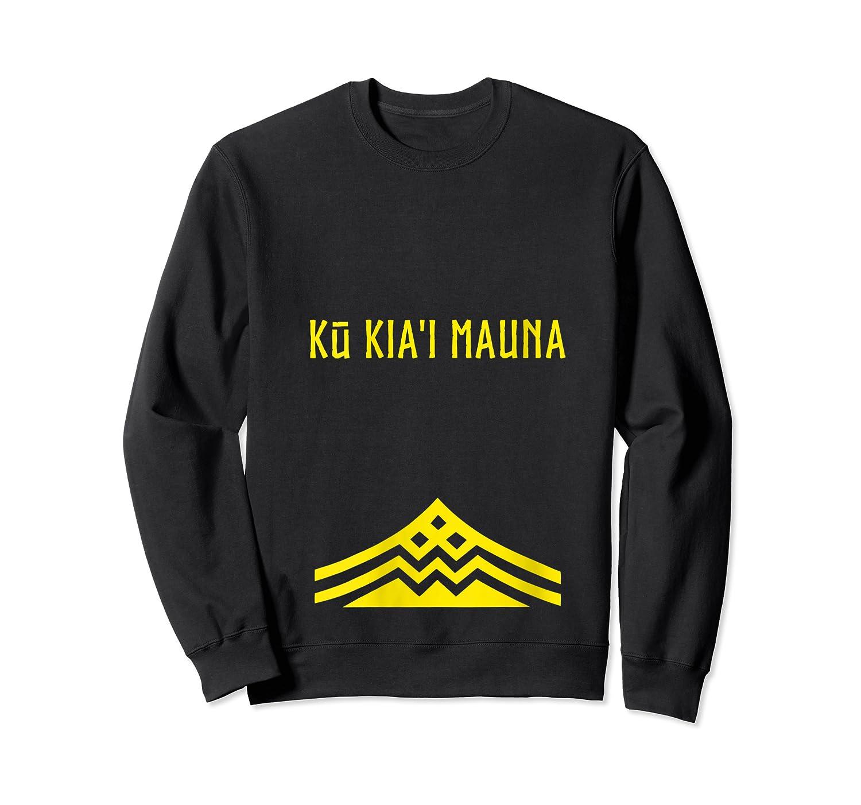 Ku Kiai Mauna Protect Defend Kanaka Maoli Kea Gift Shirts Crewneck Sweater