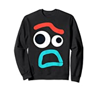 And Pixar Toy Story 4 Forky Timid Face Costume Shirts Sweatshirt Black