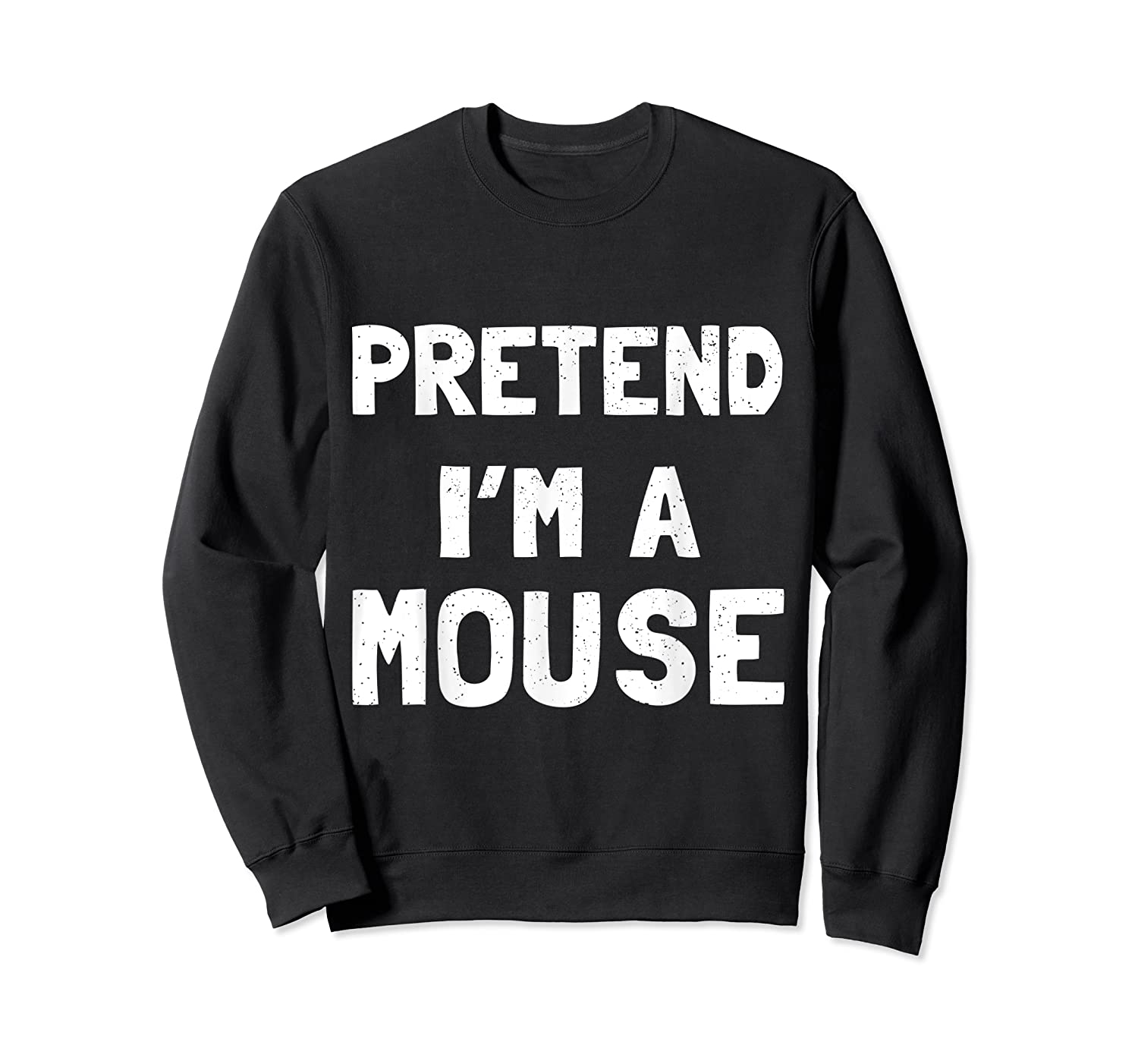 Mouse Halloween Costume Funny Gift Shirts Crewneck Sweater