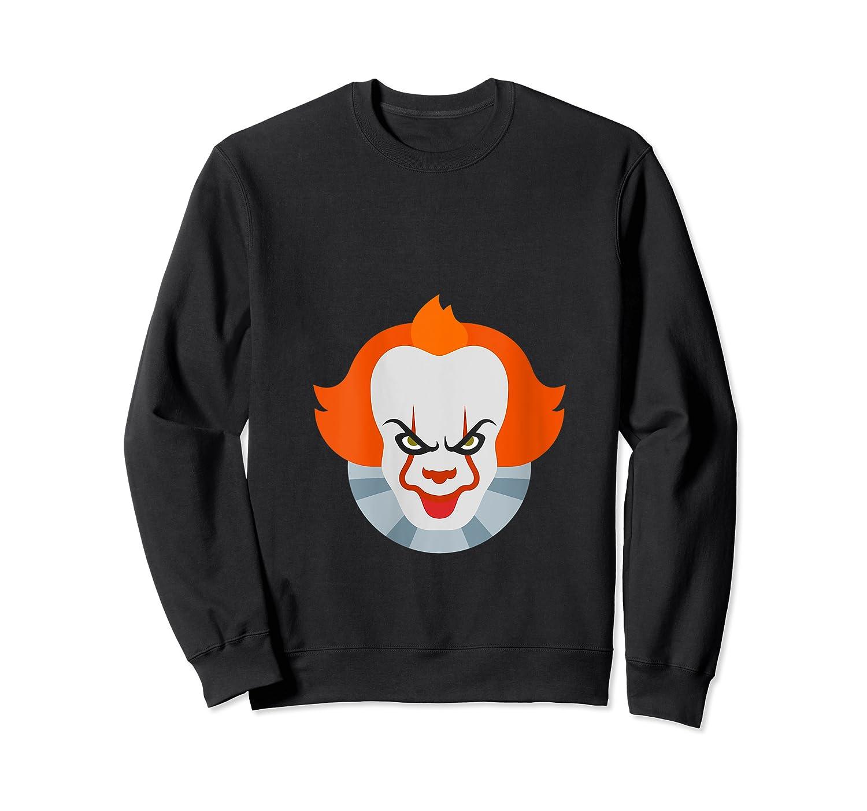 Scary Clown Halloween Gift T-shirt Crewneck Sweater