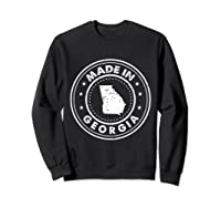 Made In Georgia Vintage State Pride Usa Shirts Sweatshirt Black