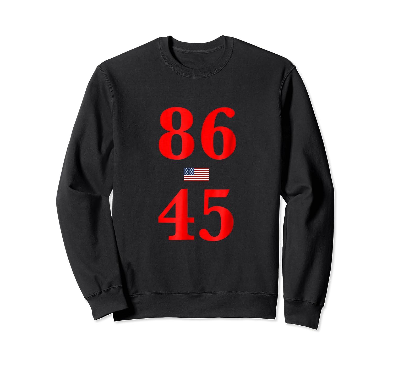 86 45 Impeach 45 Anti Trump T Shirt Crewneck Sweater