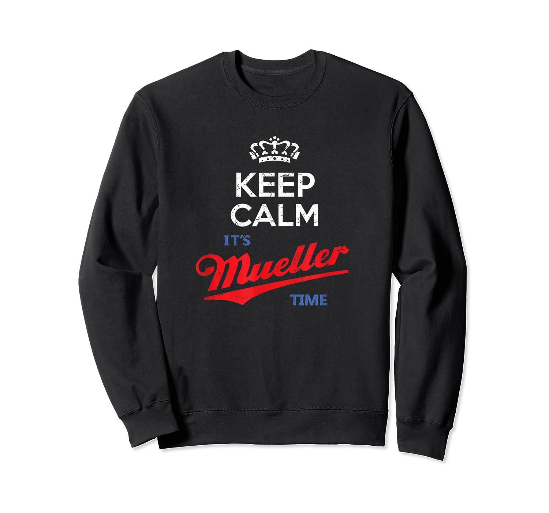Keep Calm It S Mueller Time Impeach Trump Distressed T Shirt Crewneck Sweater