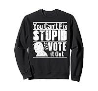 Sarcastic Impeach Resist President Vote Dems Anti Trump 2020 Premium T Shirt Sweatshirt Black
