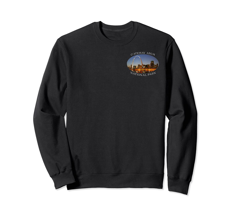 Gateway Arch National Park Image Shirts Crewneck Sweater