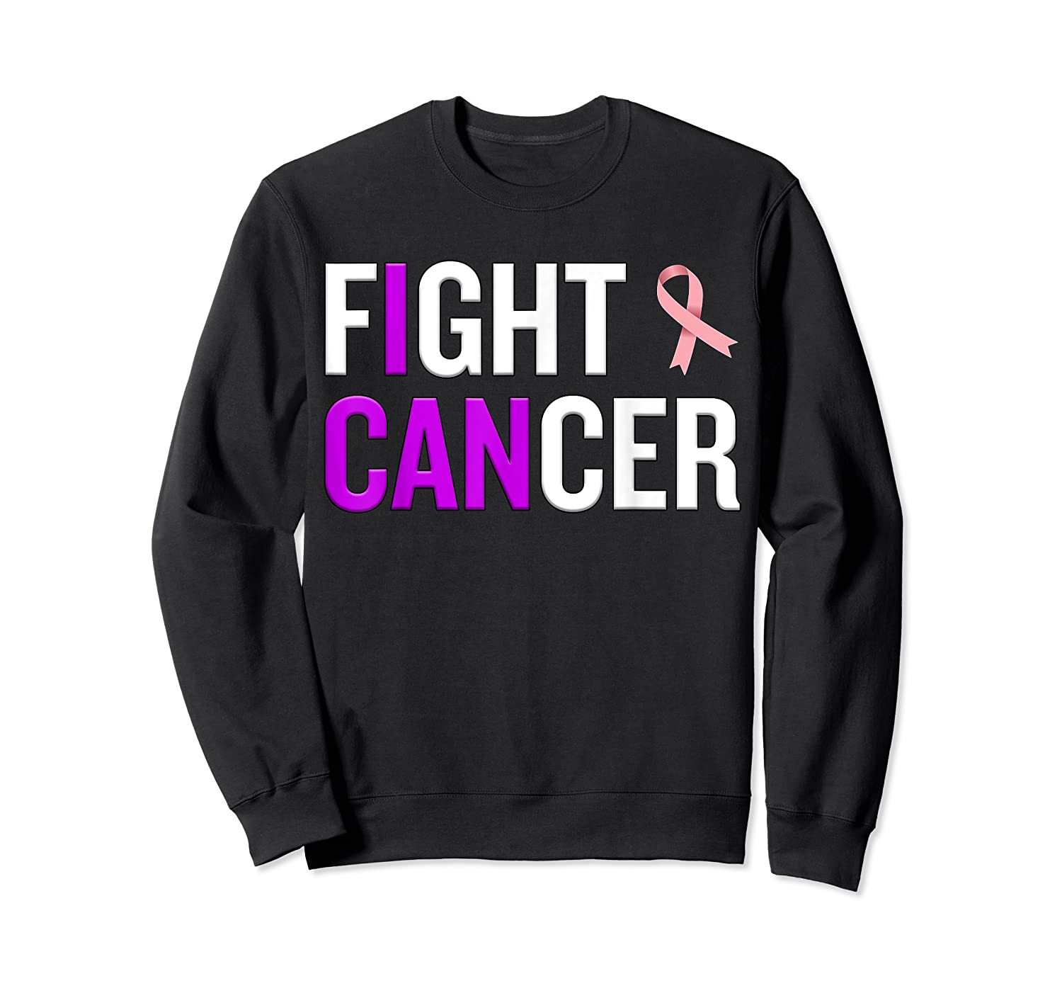 Breast Cancer Month Awareness Gift For Survivors Warriors T Shirt Crewneck Sweater