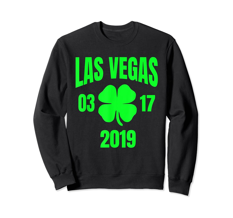 St Patricks Day Las Vegas T Shirt 2019 Saint Pattys Shirt Crewneck Sweater