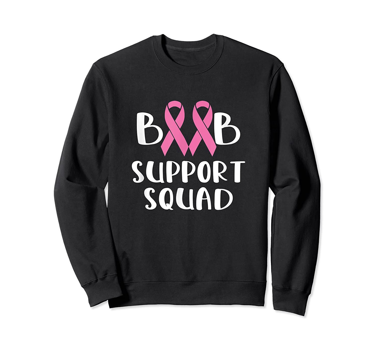 Pink Night Football Breast Cancer Awareness Month Supporter T Shirt Crewneck Sweater