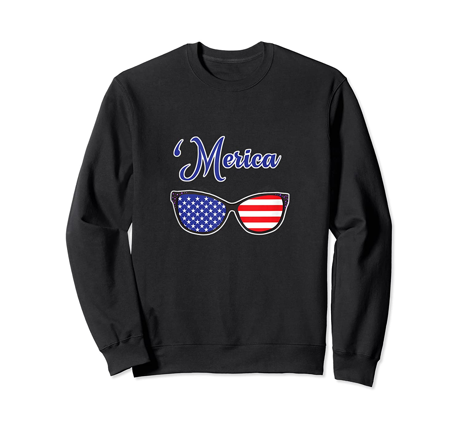 Merica Patriotic Memorial Day July 4th And Election Tank Top Shirts Crewneck Sweater