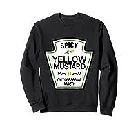 Mustard Condits Group Halloween Costumes T-shirt T-shirt Sweatshirt Black
