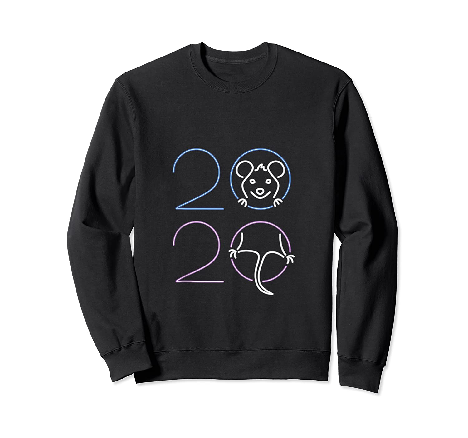 2020 Year Of The Rat Chinese Zodiac Lunar Happy New Year Shirts Crewneck Sweater