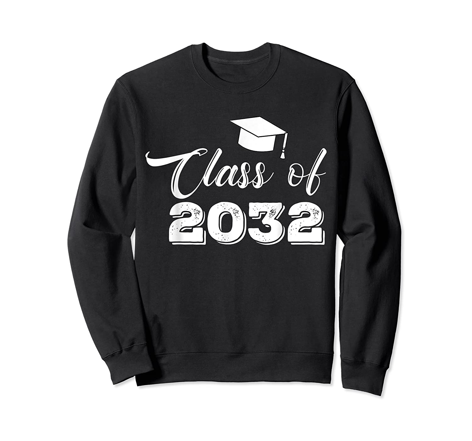 Class Of 2032 Grow With Me Funny Gift Back To School Shirts Crewneck Sweater