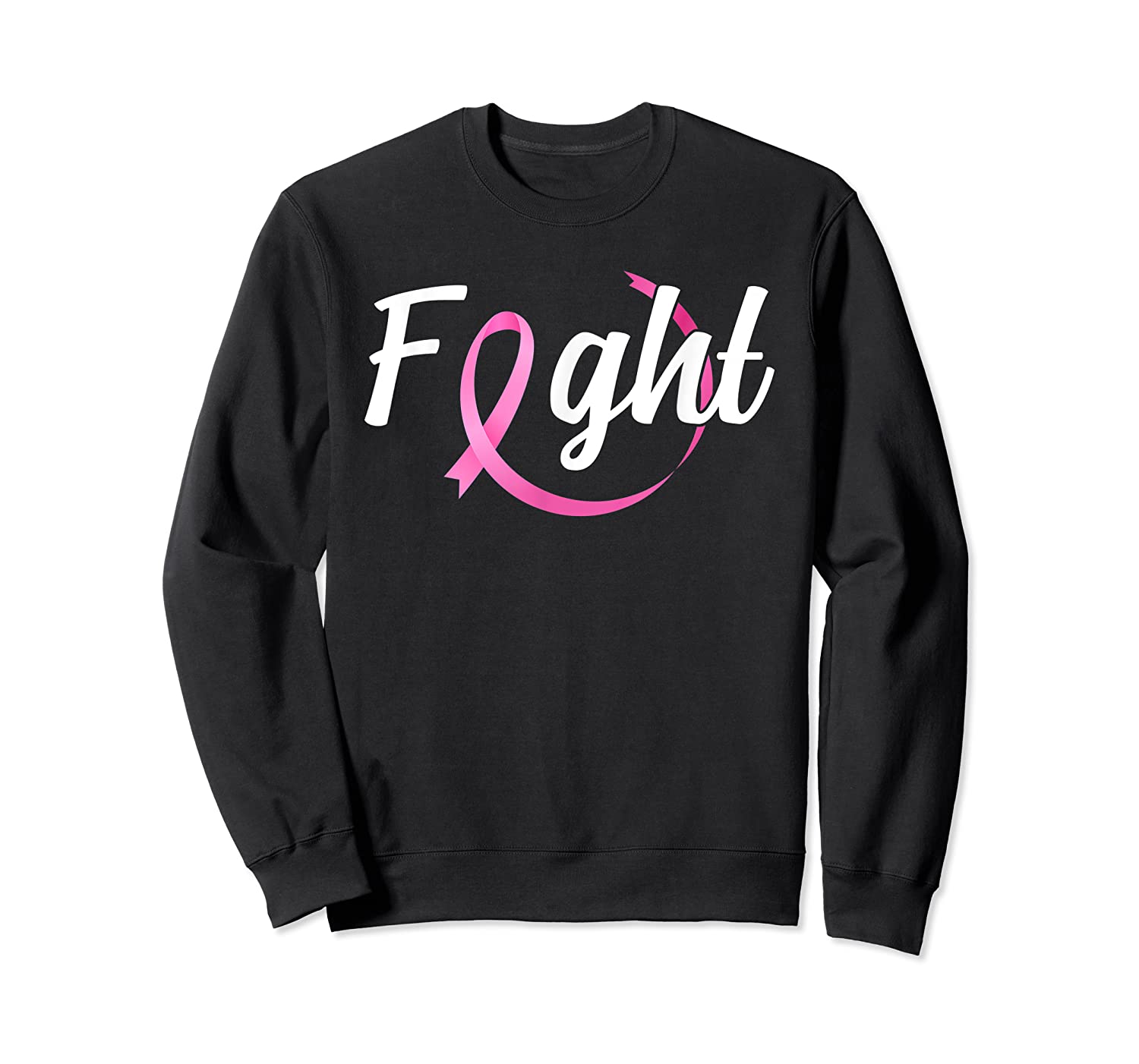 Fight Breast Cancer Awareness Month T Shirt Crewneck Sweater