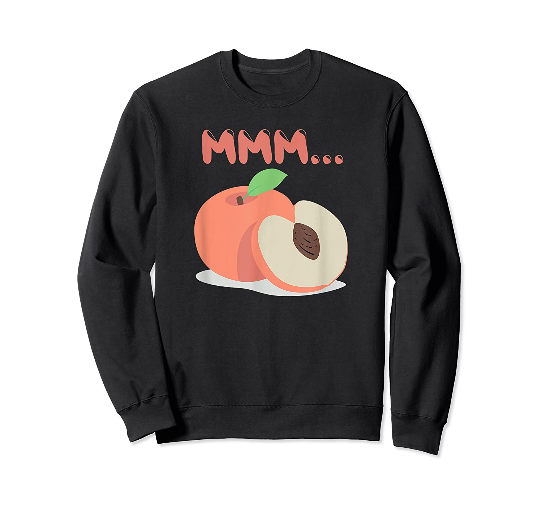 Mmm Peach Impeach Trump Political Protest Tee Activist Gift Shirts Crewneck Sweater