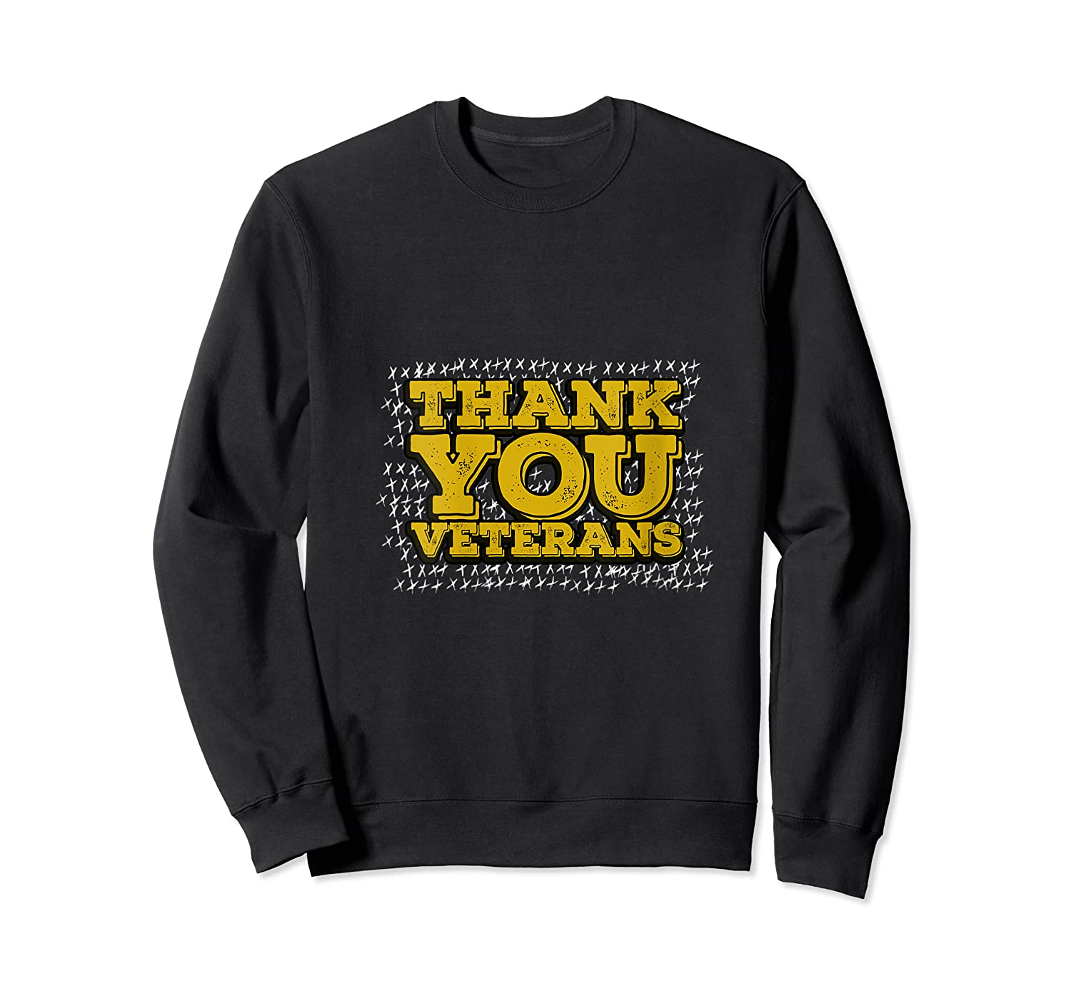 Thank You Veterans American Army Veterans Day Gift T Shirt Crewneck Sweater