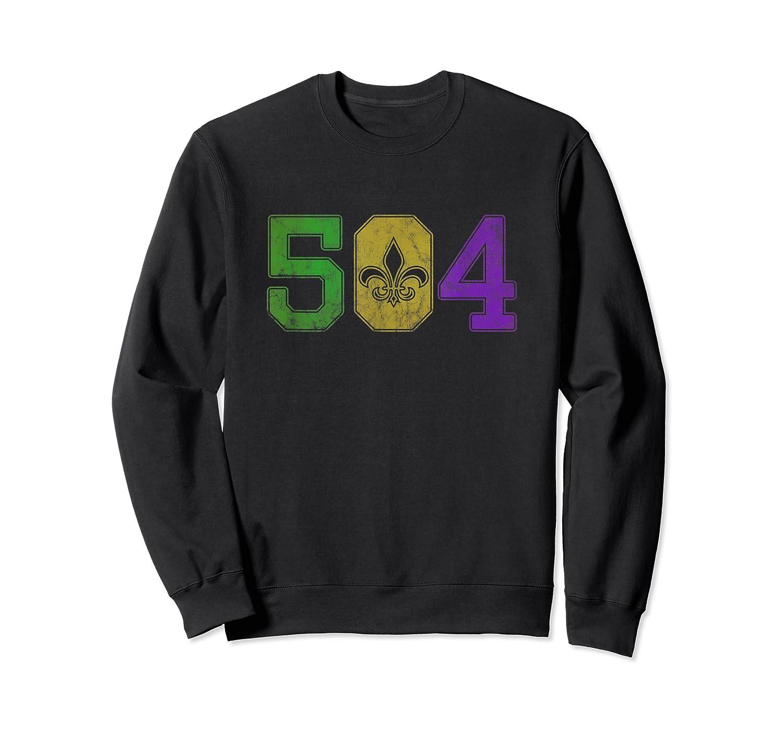 Mardi Gras 504 T Shirt Nola New Orleans Louisiana La 2019 Crewneck Sweater