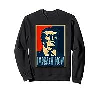 Impeach Trump Now Nancy Funny Vintage Gift T Shirt Sweatshirt Black