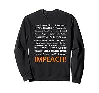 29 More Reasons To Impeach Potus Trump Political Activist Premium T Shirt Sweatshirt Black