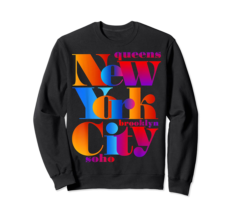New York City T Shirt Urban Nyc Fashion Style T Shirt Nyc T Shirt Crewneck Sweater