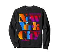 New York City T Shirt Urban Nyc Fashion Style T Shirt Nyc T Shirt Sweatshirt Black