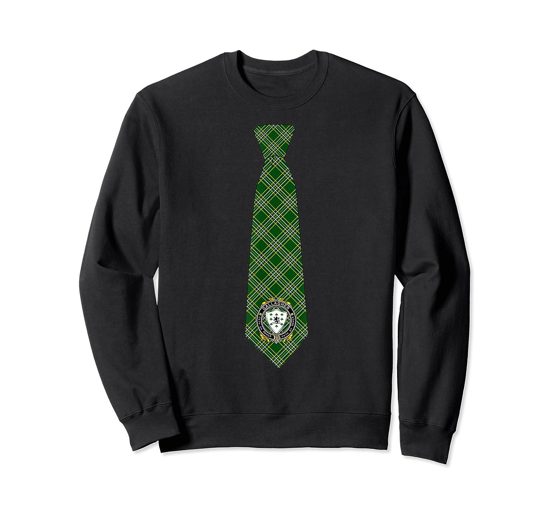 Gallagher O Gallagher Irish Necktie W Irish National Tartan T Shirt Crewneck Sweater