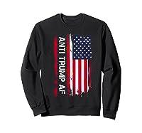Anti Trump Impeach The 45th President T Shirt Sweatshirt Black