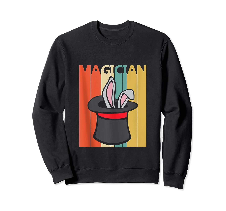 Magic Trick Rabbit Out Of A Hat Shirt Magician Gift Tank Top Crewneck Sweater