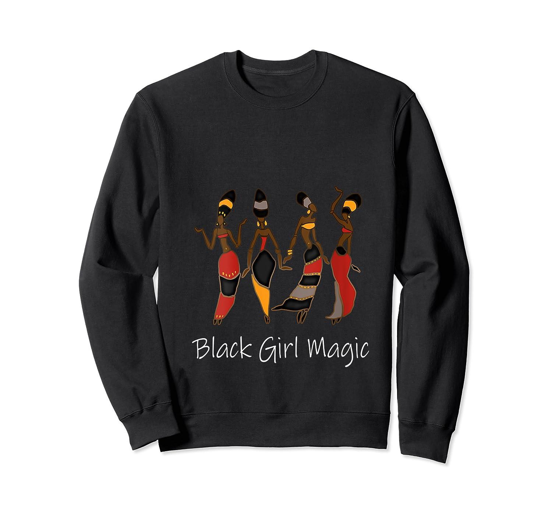 Black Girl Magic Queen Melanin African American T-shirt Crewneck Sweater