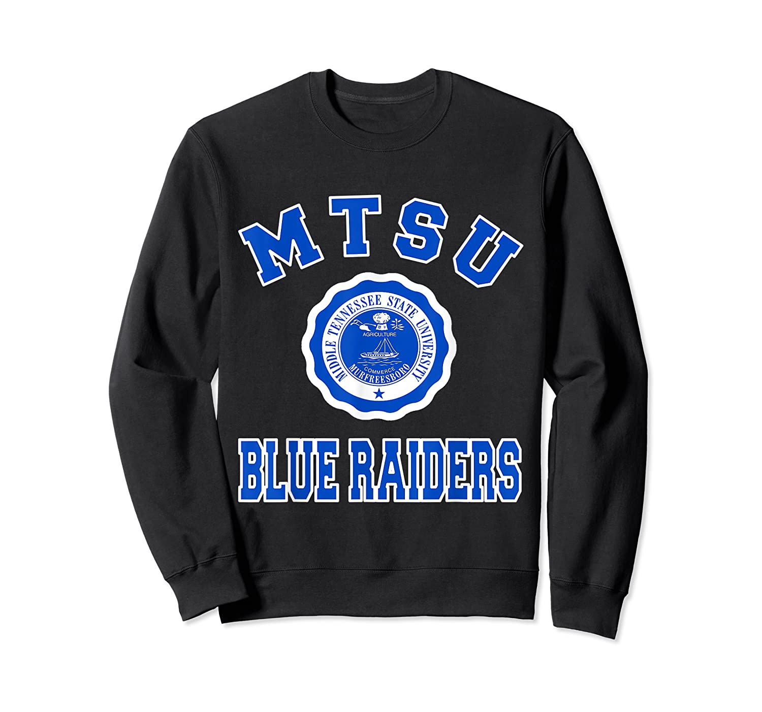 Middle Tennessee State 1911 University Apparel T Shirt Crewneck Sweater