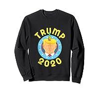 Funny Unicrontrump 2020 Election Usa Flag Republican Gift Tank Top Shirts Sweatshirt Black