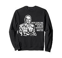 Military Veteran Mattis For President 2020 Election T Shirt Sweatshirt Black