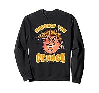 Impeach Donald Anti Trump Orange Emoji Premium T Shirt Sweatshirt Black