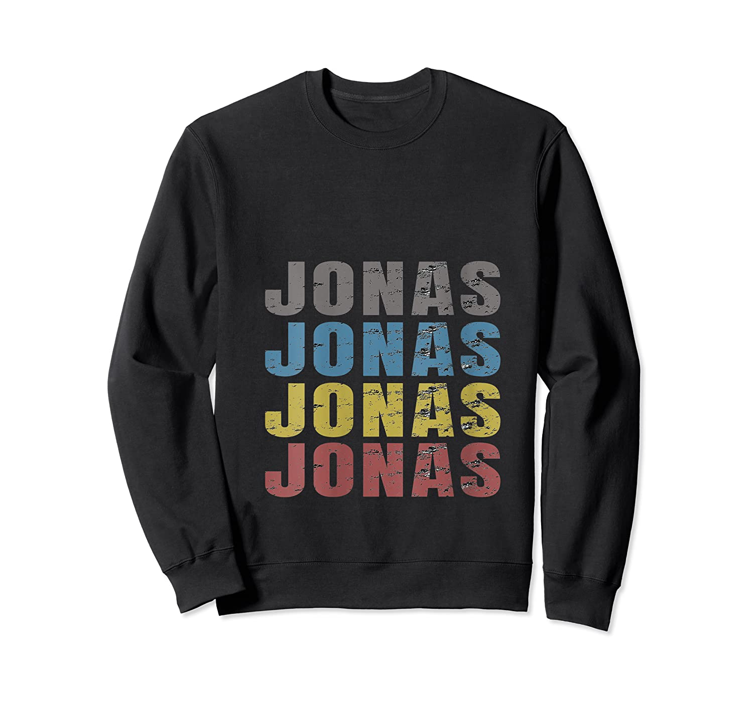 Jonas First Given Name Pride Funny T Shirt Crewneck Sweater