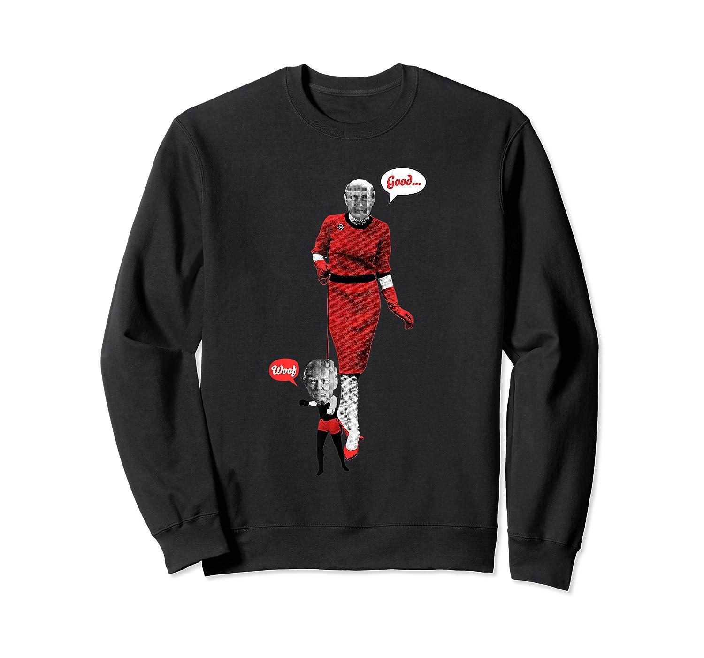 Trump Shirt Putin S Lapdog Impeach Russian Anti Trump Tshirt Crewneck Sweater