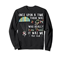 Once Upon A Time There Was A Girl Who Really Loves Books Ts Shirts Sweatshirt Black